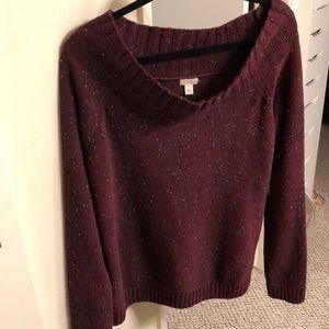 Hinge Scoop Neck sweater